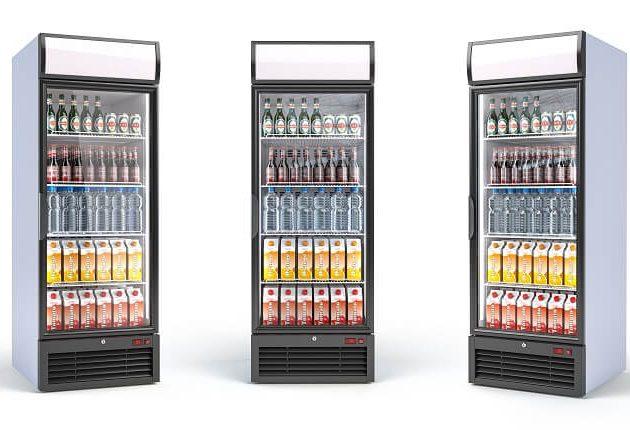 Üvegajtós hűtő