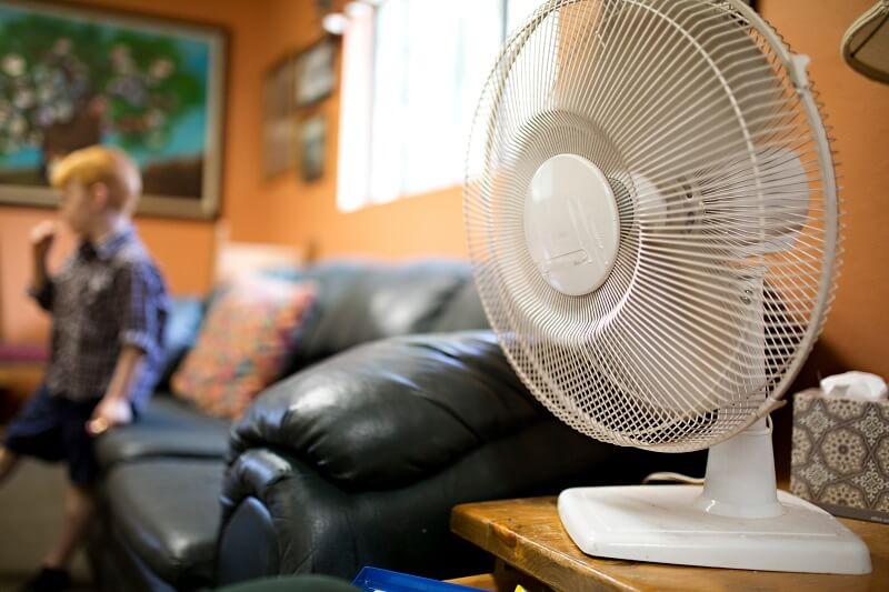 lakás hűtés ventilátorral